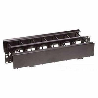 Hubbell Premise Wiring HC219GC36 Hubbell Wiring HC219GC36 Nextframe® Duct Panel; 2U Rack, 3-1/2 Inch Height Panel x 3-1/2 Inch Depth Front Ring x 6 Inch Depth Rear Ring, 16 Gauge Cold-Rolled Steel, Powder Coated, Black