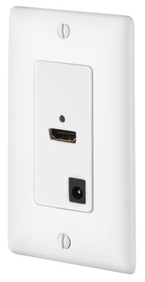 Hubbell Premise Wiring ISFH110W Hubbell Premise ISFH110W iSTATION™ 110 UTP HDMI Decorator Video Extender; High Impact Thermoplastic, White