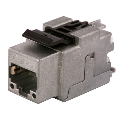 Hubbell Premise Wiring SJ6A24B Hubbell Premise SJ6A24B Ascent Category 6A RJ45 Jack; 8P