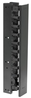 Hubbell Premise Wiring VS76H Hubbell Premise VS76H Rack Vertical ChanHinged7HX6WBk