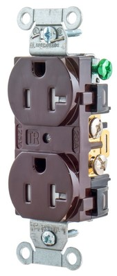Hubbell Wiring Device-Kellems BR20TR Hubbell BR20TR TAMP RES COM GRD 20A