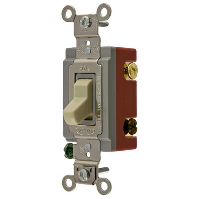 Hubbell Wiring Device-Kellems CS1223IU Hubbell CS1223IU Switch Com 3W 20A 120277V Iv Usa