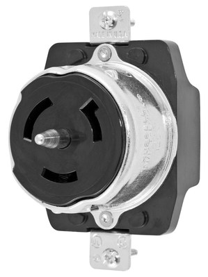 Hubbell Wiring Device-Kellems CS6370 Hubbell CS6370 Lkg Rcpt 50A 125V 2P3W
