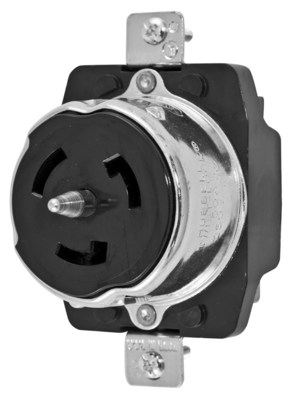Hubbell Wiring Device-Kellems CS8369 Hubbell CS8369 HUBW LKG RCPT-3P4W50A250