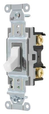 Hubbell Wiring Device-Kellems CSB120W Hubbell CSB120W SWITCH SPEC SP 20A