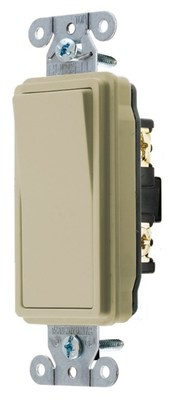 Hubbell Wiring Device-Kellems DS420I Hubbell DS420I Switch Deco Ser 4W 20A 120277V Iv