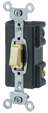Hubbell Wiring Device-Kellems HBL1284I Hubbell HBL1284I 4 Way Pressswitch 20A Iv