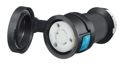 Hubbell Wiring Device-Kellems HBL2323SW Hubbell HBL2323SW Lkg Wt SShrd Conn 20A 250V L620R