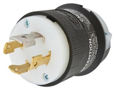 Hubbell Wiring Device-Kellems HBL2761 Hubbell HBL2761 Lkg Plug 30A 3PH 277480V L1930P BW