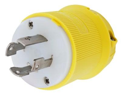 Hubbell Wiring Device-Kellems HBL27CM31 Hubbell HBL27CM31 Lkg Plug Cm 30A 3PH 480V L1630P