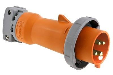 Hubbell Wiring Device-Kellems HBL4100P12W Hubbell HBL4100P12W HUBW PLUG-3P4W100A250V