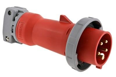 Hubbell Wiring Device-Kellems HBL530P7W Hubbell HBL530P7W Ps Iec Plug 4P5W 30A 277480V WT