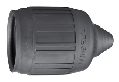 Hubbell Wiring Device-Kellems HBL6035 Hubbell HBL6035 Wiring Device-Kellems Boot, Weatherproof, Blk