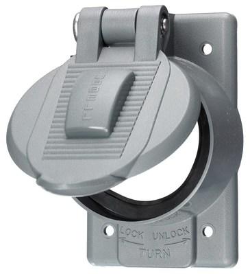 Hubbell Wiring Device-Kellems HBL7774WO Hubbell HBL7774WO HUBW WDL OPEN LFT CVR