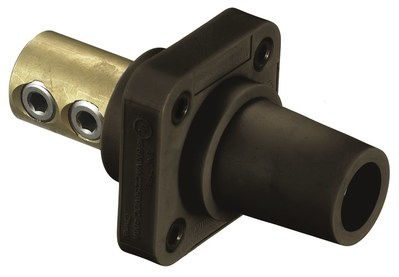 Hubbell Wiring Device-Kellems HBLFRBN Hubbell HBLFRBN Singlepole 300400A Fem Rcpt Screw Br