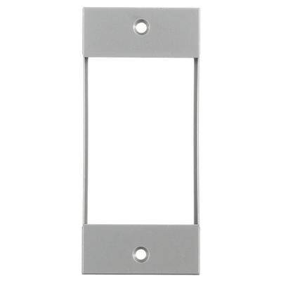 Hubbell Wiring Device-Kellems HBLIMFSGY Hubbell HBLIMFSGY Mod Face Plate Imf Gray Screw