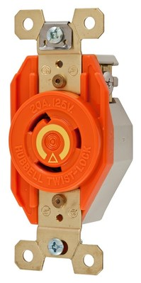 Hubbell Wiring Device-Kellems IG2310 Hubbell IG2310 Wiring Device-Kellems Receptacle, Twist Lock, L5-20R