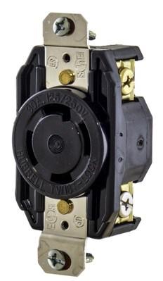 Hubbell Wiring Device-Kellems L1630R Hubbell L1630R  NEMA L16-30R RECEPTACLE