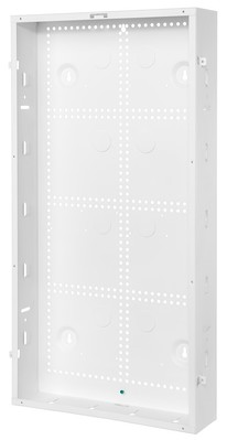 Hubbell Wiring Device-Kellems NSOBOX28B Hubbell Wiring NSOBOX28B Netselect® Network Enclosure; 14.38 Inch Width x 28 Inch Height x 3.96 Inch Depth, Flush, Wall Mount, White