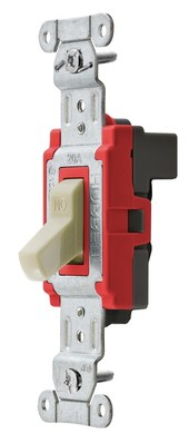 Hubbell Wiring Device-Kellems SNAP1223INA Hubbell SNAP1223INA SwitchSnapconn3W20A120277VIvNa