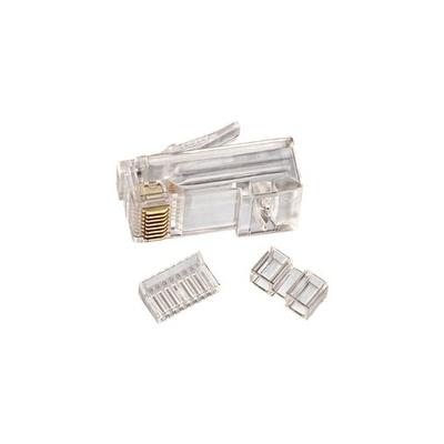 Ideal 85-366 Ideal 85-366 Modular RJ45 Plug; 8P8C, Clear