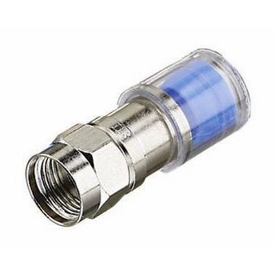 Ideal 89-044 Ideal 89-044 OmniCONN™ RG-6 Compression F-Type Connector; 50/Jar