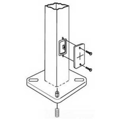 Lithonia Lighting / Acuity AB18-0 Lithonia Lighting / Acuity AB18-0 Steel Anchor Bolt; 18 Inch Length