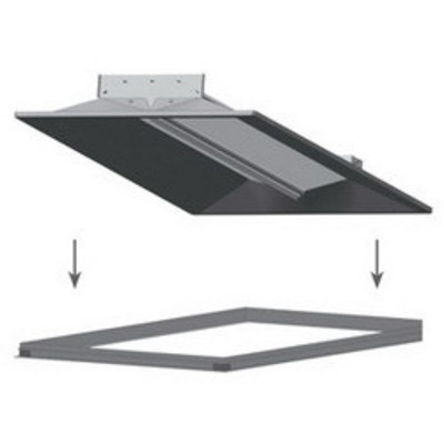 Lithonia Lighting / Acuity DGA14 Lithonia Lighting / Acuity DGA14 Adapter; For 1 x 4 ft Recessed Direct/Indirect Lighting