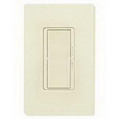 Lutron DVCL-153P-LA Lutron DVCL-153P-LA Diva® C.L™ Single Pole 3-Way Preset Slide Dimmer with Paddle On/Off Switch; 120 Volt AC, 600/150 Watt, CFL/LED/Incandescent/Halogen, Light Almond