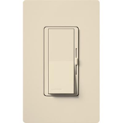 Lutron DVSCCL-153P-ES Lutron DVSCCL-153P-ES Diva® CL® Satin Colors® 3-Way Dimmer; 120 Volt, 600/150 Watt, 1-Pole, Wall Box Mount