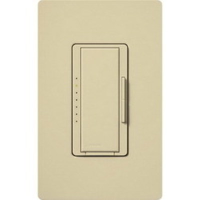Lutron MACL-153M-IV Lutron MACL-153M-IV Maestro® C.L™ Single Pole Tap On/Off Dimmer Switch; 120 Volt AC, 600/150 Watt, CFL/LED/Incandescent/Halogen, Ivory