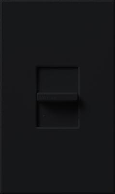 Lutron NTSTV-DV-BL Lutron NTSTV-DV-BL Nova T® Dimmer; 0 - 10 Volt DC, 120 - 277 Volt AC, Black
