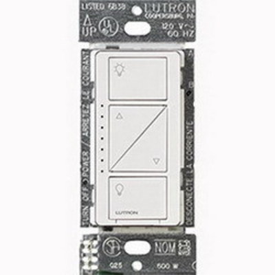 Lutron PD-6WCL-IV Lutron PD-6WCL-IV Caseta™ C.L™ Wireless In-Wall Dimmer; 120 Volt AC, Ivory Color Gloss Finish, Wall Mount