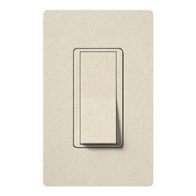 Lutron SC-1PS-LS Lutron SC-1PS-LS Claro® Satin Color® General Purpose Switch; 1-Pole, 120/277 Volt, 15 Amp, Limestone