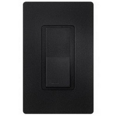 Lutron SC-1PS-MN Lutron SC-1PS-MN Claro® Satin Color® General Purpose Switch; 1-Pole, 120/277 Volt, 15 Amp, Midnight