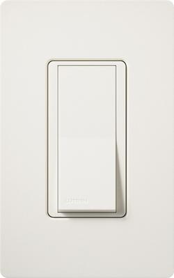 Lutron SC-3PS-BI Lutron SC-3PS-BI Claro® Satin Color® 3-Way General Purpose Switch; 1-Pole, 120/277 Volt, 15 Amp, Biscuit