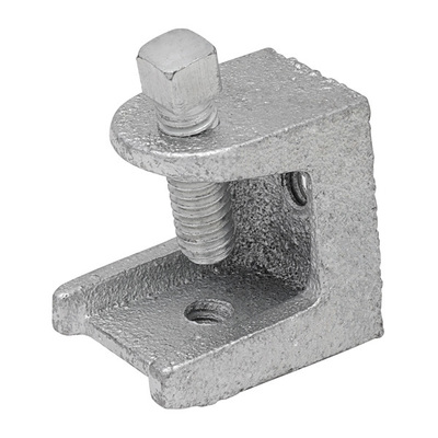 Madison 26 Madison 26 Beam Clamp With Square Head Bolt; 2 Inch, Malleable Iron