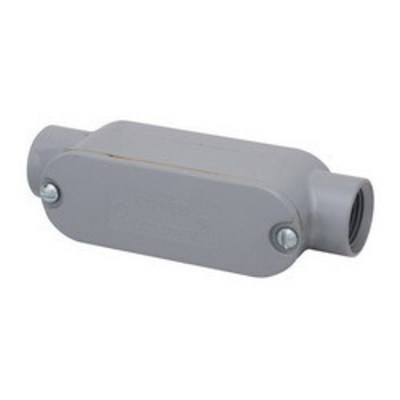 Madison LCLA-200-CB Madison LCLA-200-CB Type C Rigid Conduit Body With Cover and Gasket; 2 Inch, Aluminum