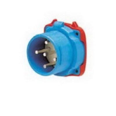 Meltric Plugs & Receptacles 33-68232-C-K16 Meltric 33-68232-C-K16 Decontactor™ DS100C Male Switch Rated Inlet; 100 Amp, 208 Volt, 2-Pole, 3-Wire, NEMA 3R, Blue