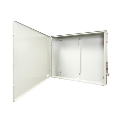 Milbank 363010-TC3R-SP1 Milbank 363010-TC3R-SP1 Hinged Cover Telephone Cabinet; 14-16 Gauge Steel, 36 Inch Width x 10 Inch Depth x 30 Inch Height