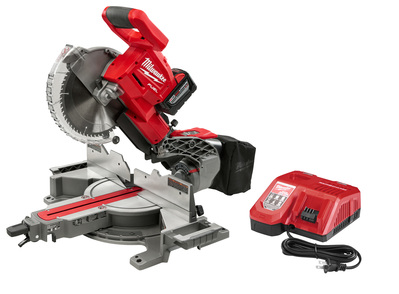 Milwaukee Electric Tools 2734-21HDP Milwaukee Tool 2734-21Hdp  M18 Fuel Miter Saw W/ Added 9.0Ah Pack In