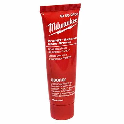 Milwaukee Electric Tools 49-08-2400 Milwaukee Tools 49-08-2400 ProPex®, M12™ Lubricants Expander Cone Grease; 1-3/4 oz, Oil Odor, Gray