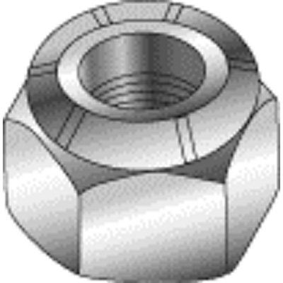 Minerallac 40425 40425 CULLY 1/4-20 NYLOC NUT ZP