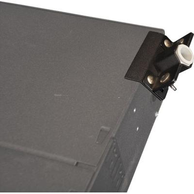 Multilink 065-151-10 Multilink 065-151-10MULTILK Strain Relief Bracket Kit; 0.300 - 0.790 Inch Dia, Powder Coated Steel, Rubber Grommets, For 2RU Or Larger Rack Mount Enclosures