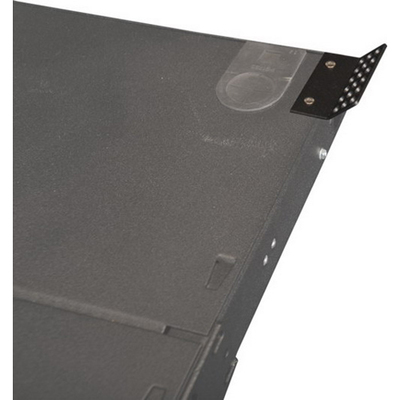 Multilink 065-249-10 Multilink 065-249-10MULTILK Strain Relief Bracket Kit; Powder Coated Steel, Plastic Straps, For 1RU Rack Mount Enclosures With Bracket and Tie Straps