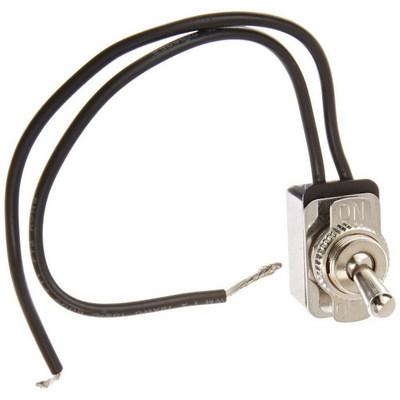 NSI 78150TW NSI 78150TW Toggle Switch; 1-Pole, SPST, 125/250 Volt AC, 10/4 Amp