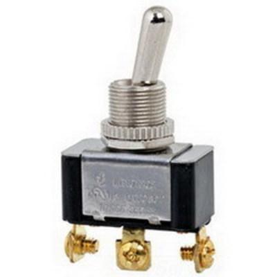 NSI 78160TS NSI 78160TS Toggle Switch; 1-Pole, SPDT, 125/250 Volt AC, 20/10 Amp, Metallic