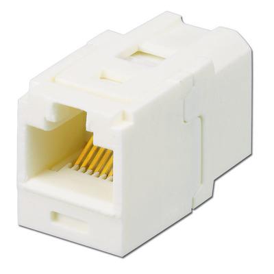 Panduit CC688IW Panduit CC688IW Mini-Com® Universal CAT 6/Class E Coupler Jack Module; UTP, 8 Position ABS, Office White