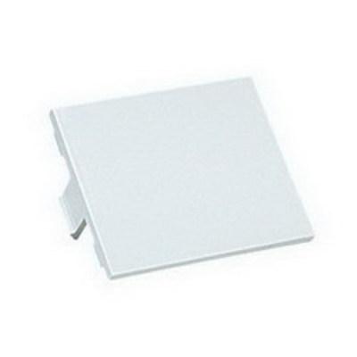 Panduit CHB2AW-X Panduit CHB2AW-X Mini-Com® 1/2-Size Blank Insert; Arctic White, 10/Pack