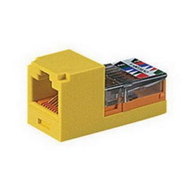 Panduit CJ588WHY Panduit CJ588WHY Mini-Com® Mini-Jack™ TX5e™ Category 5e/Class D Jack Module; 8P8C, White